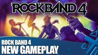 Rock Band 4 on PS4: New Gameplay and Info