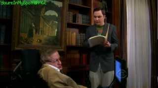 Sheldon Meets Stephen Hawking - The Big Bang Theory