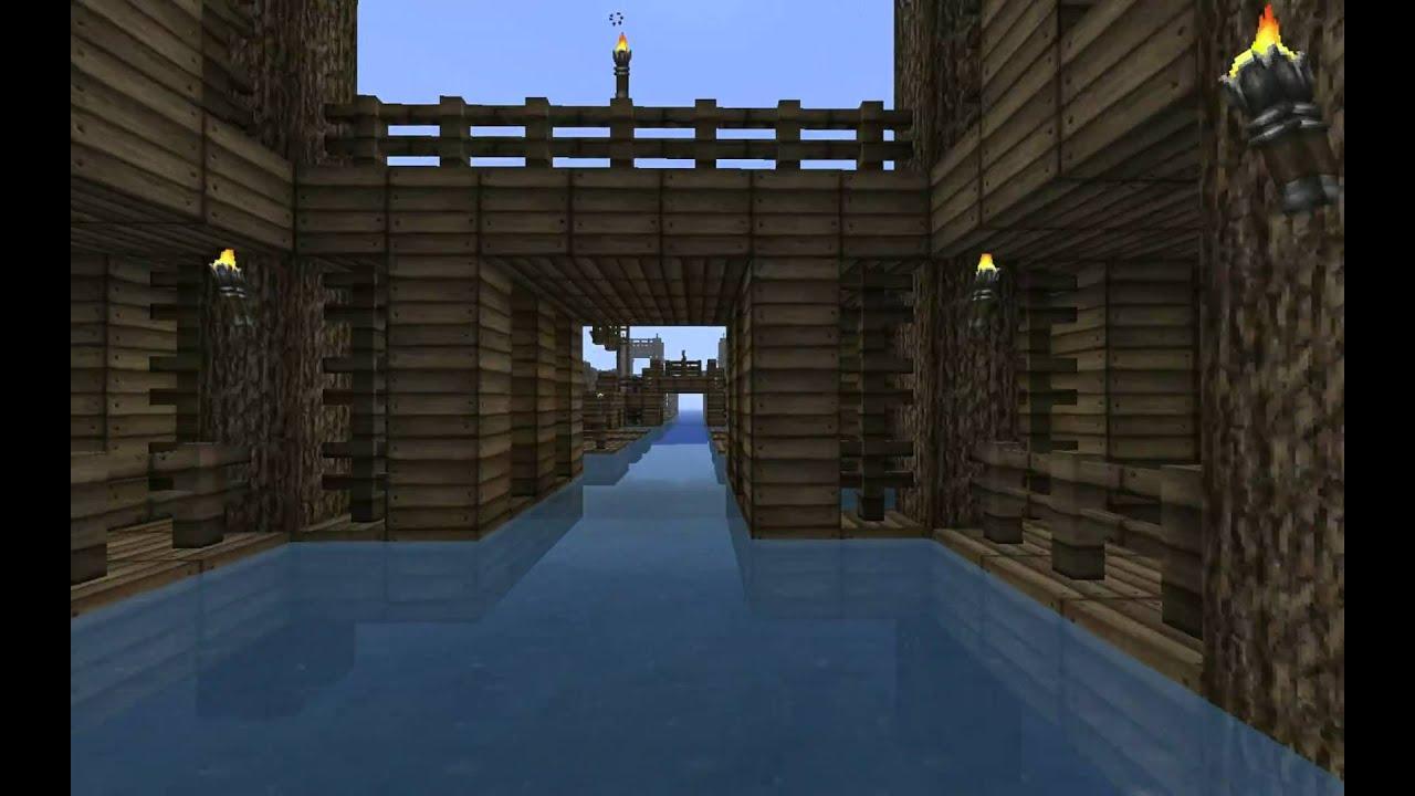 Minecraft Water Village - YouTube