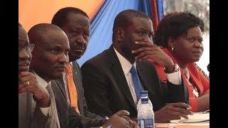 Raila Odinga meets Jubilee, KANU and ODM youth