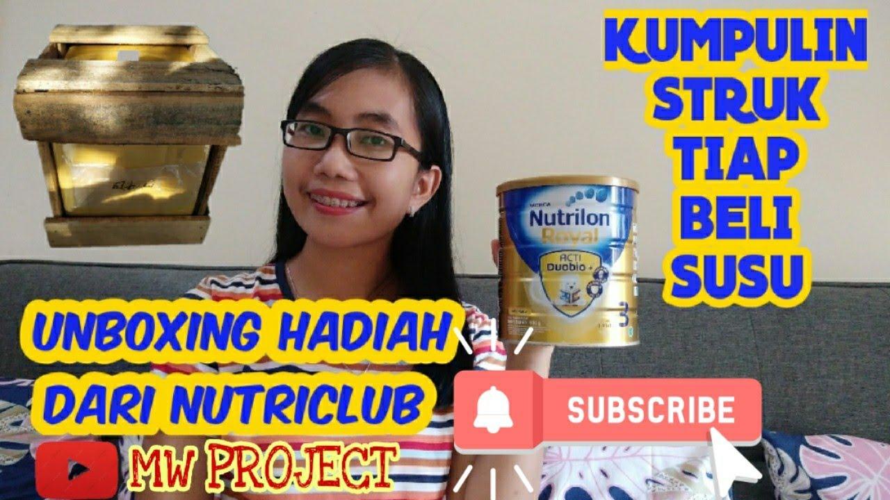 Unboxing Hadiah Dari Nutriclub Pengumpulan Poin Susu Nutrilon Royal Youtube