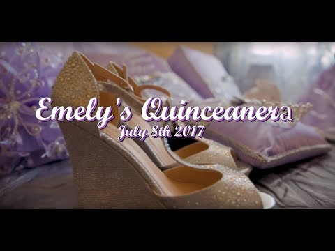 emelys quinceanera highlight video sweet fifteen birthday party