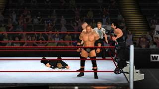 Triple H New WWE 13 Wii Textures