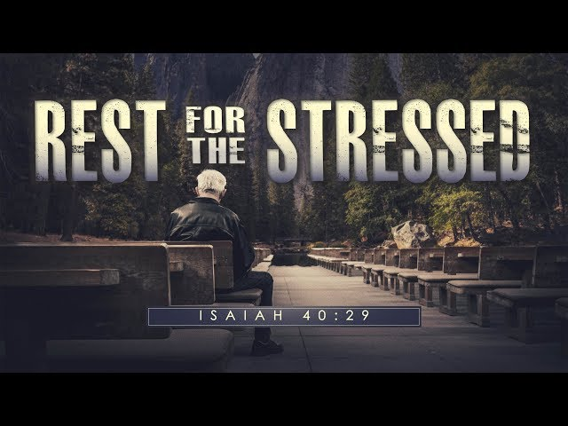 Pastor Jason Murphy - Rest For The Stressed