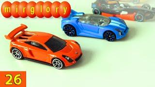 Машинки мультфильм - Город машинок - 26 серия: Автогонки, автовоз. Развивающие мультики