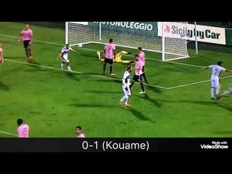 Palermo - Cittadella 0-3 Serie B Giornata 15 (Tutti i Goal)