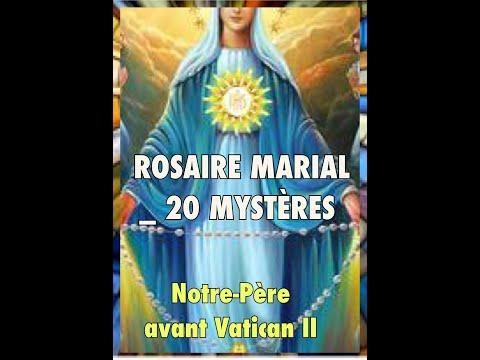 ROSAIRE MARIAL_ 20 MYSTÈRES (JDGL)
