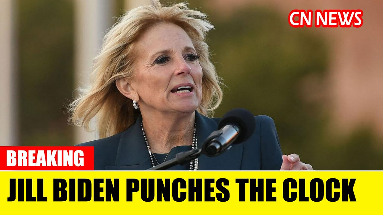 Jill Biden punches the clock