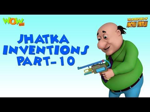Doctor Jhatka Invention - Part 10 - Motu Patlu Compilation As seen on Nickelodeon