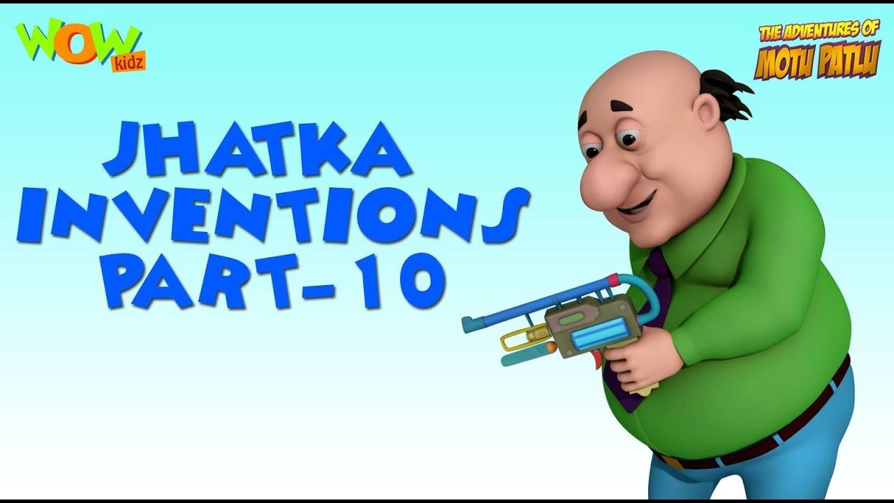 Doctor Jhatka Invention Part 10 Motu Patlu Compilation As Seen