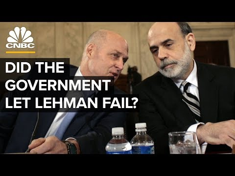 Did The Government Let Lehman Brothers Fail? | CNBC