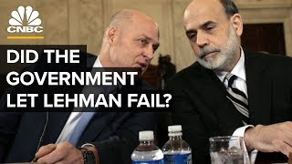 Did The Government Let Lehman Brothers Fail? | Crisis On Wall Street