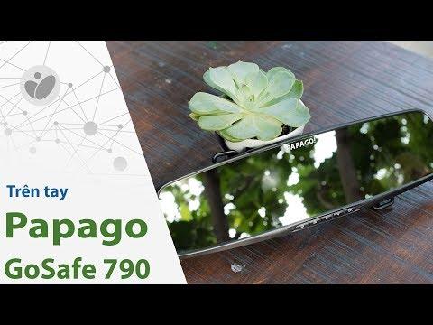 Trên tay Papago GoSafe 790: Camera hành trình gắn gương tiện lợi, nhiều tính năng hay   Tinhte.vn