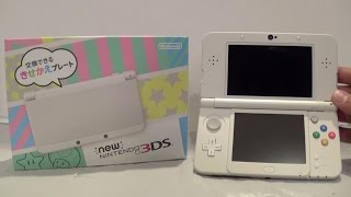 "White ""New Nintendo 3DS"" (Japan Import) Unboxing"