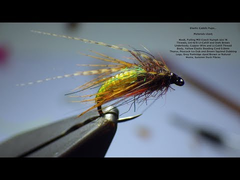 Download Youtube: Tying a Elastic Caddis Pupa by Davie McPhail