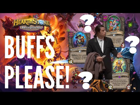 WHERE ARE THE BUFFS?!   Hearthstone Battlegrounds