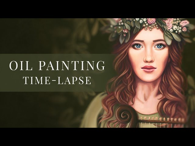 Cecilia's Song  » Oil Painting Time-lapse by Tianna Williams