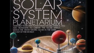 Solar system Planetarium (4M Kidz Labs) Review