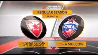 Highlights: Crvena Zvezda mts Belgrade-CSKA Moscow