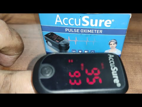 accusure-pulse-oximeter-:-unboxing-and-quick-features