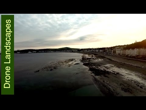 Isle of Man by Drone - Douglas Seafront