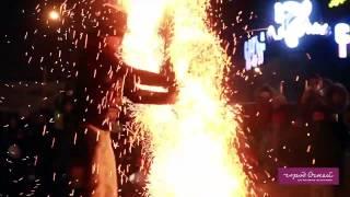 Фаер-шоу на Хэллоуин (Иркутск, Город огней)