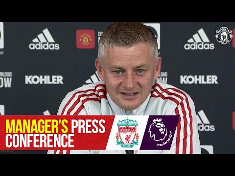 Manager's Press Conference   Manchester United v Liverpool   Ole Gunnar Solskjaer