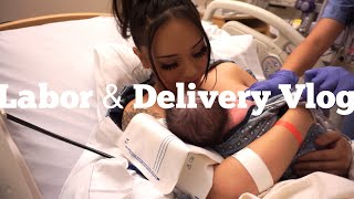 LABOR AND DELIVERY VLOG *EMOTIONAL*