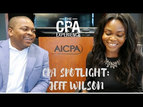 CPA Spotlight - Jeff Wilson shares his CPA Journey + CPA Exam Study Tips &  Strategies