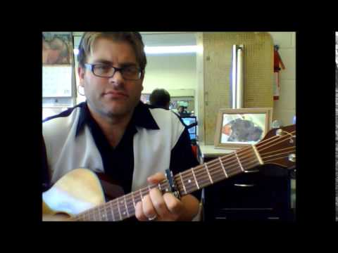 """How To Play """"Somebody Told Me"""" By The Killers On Acoustic Guitar"""