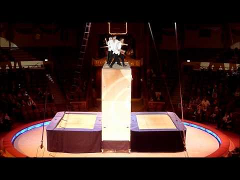 Catwall Acrobats 360 Degrees act at Circus Krone