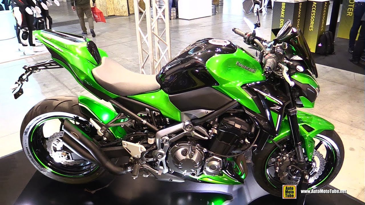 2018 kawasaki z900 ermax customized walkaround 2017 eicma milan motorcycle exhibition youtube. Black Bedroom Furniture Sets. Home Design Ideas
