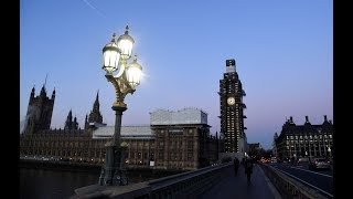 Parliamentarians are debating in Westminster after UK Prime Ministe...