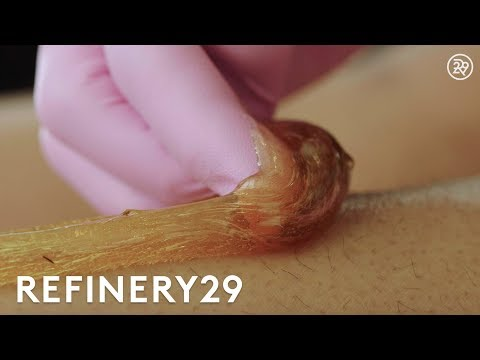 Why Sugaring Is The Best Type Of Hair Removal | Macro Beauty | Refinery29