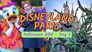 Disneyland Paris Halloween 2016 VLOG - DAY 5!   ThatDisneylandLover
