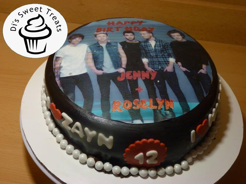 One Direction Cake Di S Sweet Treats Youtube