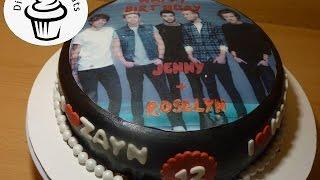 One Direction Cake- Di's Sweet Treats