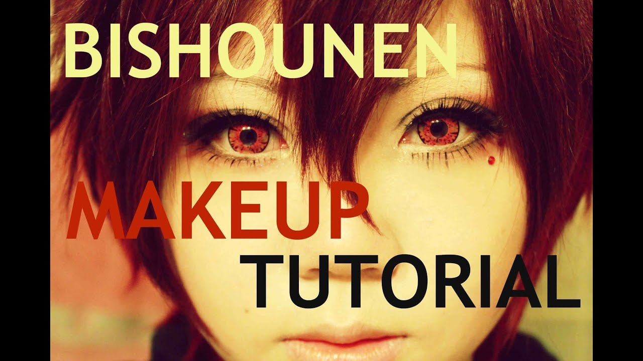 How to look bishounen makeup tutorial for cosplay youtube baditri Gallery