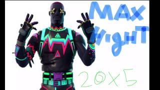 Max hight free fall (fortnite)