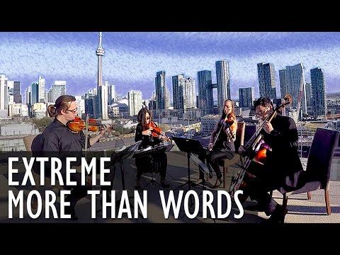 More Than Words - String Quartet COVER