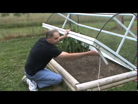 Raised Bed Garden with Summer Cover YouTube