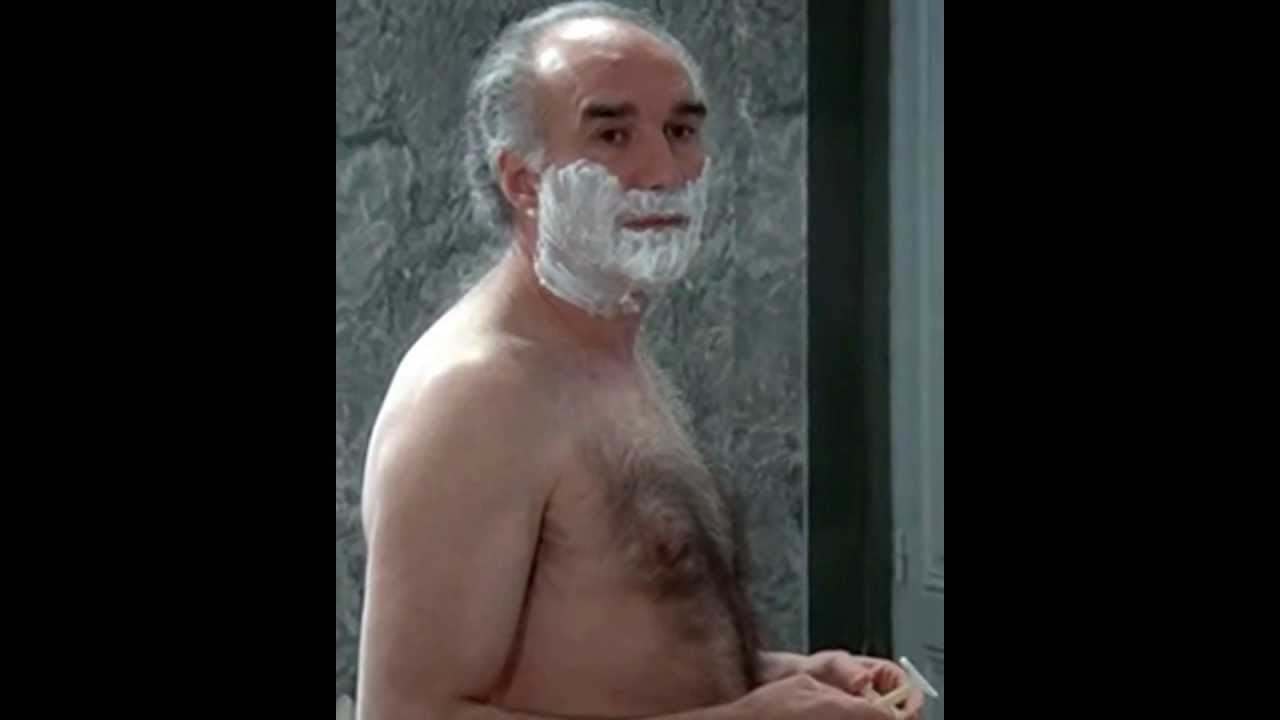 Naked Hairy Grandpa Complete michel piccoli, hairy french mature actor - youtube