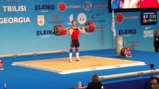 HENNEQUIN Benjamin 202kg C&J EWC Tbilisi - Georgia