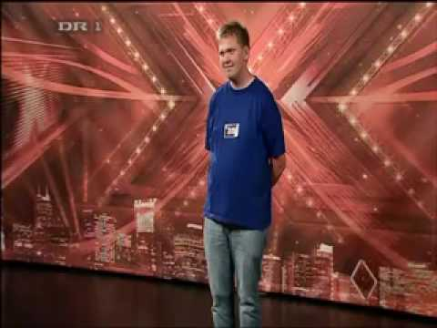 DK X Factor 09 audition 3 Lau med Ramt i natten watch in high quality
