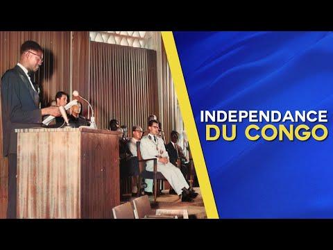 Discours d'Indépendance de Patrice Lumumba le 30 juin 1960