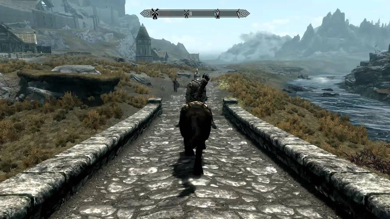 Skyrim Pferd Weg
