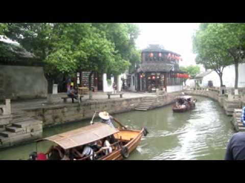 The Canal Town of Tongli, China