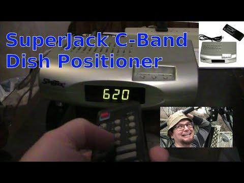 SuperJack C-Band Satellite Dish Positioner