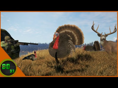 Turkey Hunting in The Morning & Deer Hunting in The Afternoon! Call Of The Wild