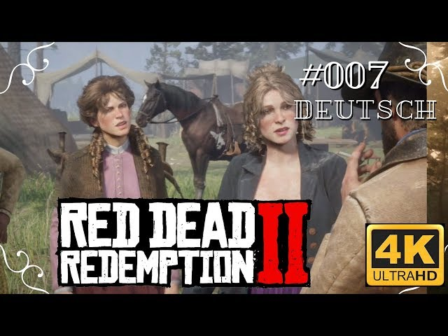 Red Dead Redemption II - #007 - Einkaufsbummel in Valentine [Deutsch, 4k, UHD, PS4Pro]